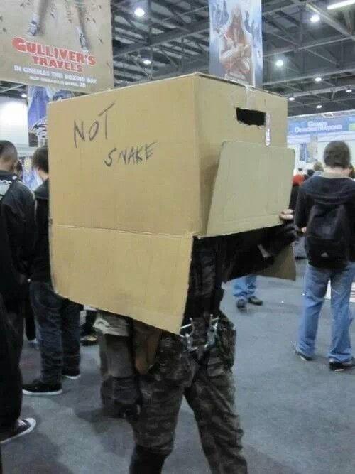 Lol. Metal Gear Cosplay