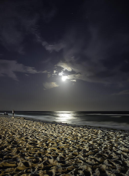 I took this photo of the Super Moon over Okaloosa Island during the May 2012 event.