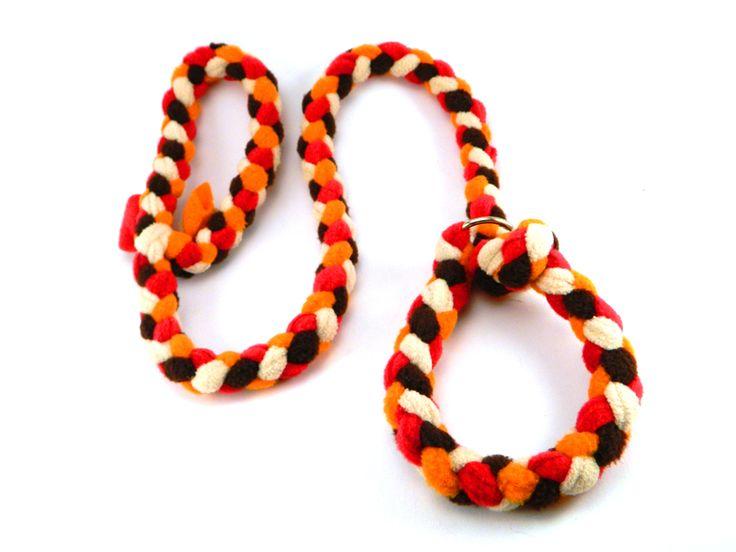 braided collar leash/ nyakörves fonott póráz #colorfundogs #leash