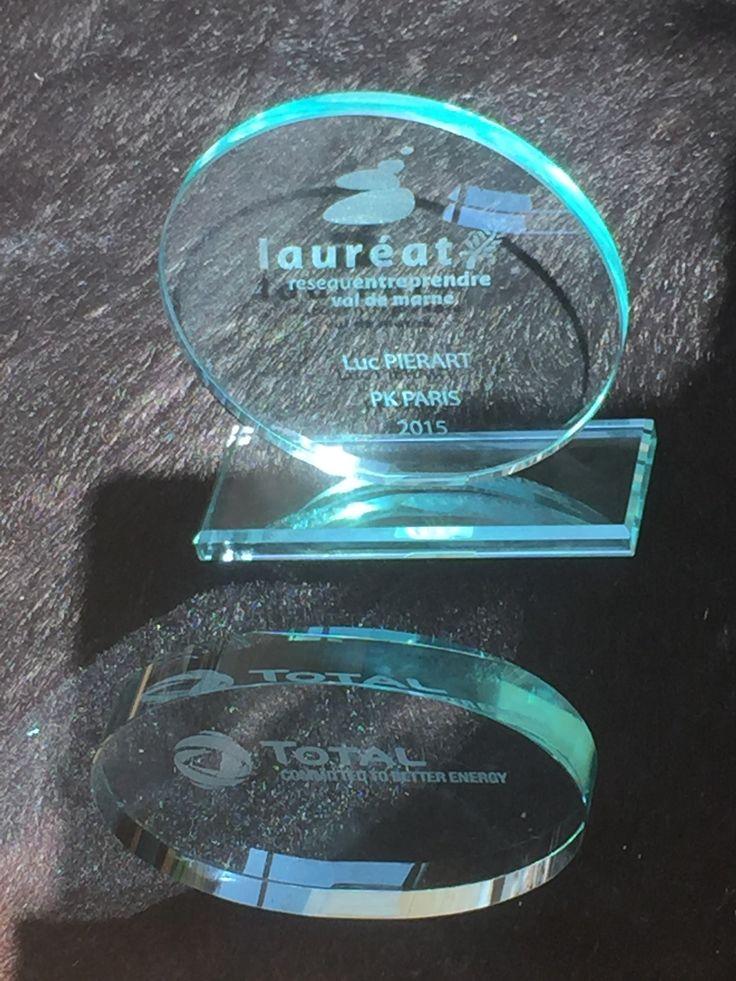 Nos 2 prix reçus le 14 mars 2016 lors de la soirée Réseau Entreprendre 94 :  - Prix lauréat 2015 - Prix de la meilleure startup du Réseau Entreprendre 94 pour 2015