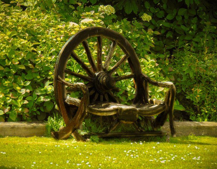 Cartwheel Bench by Felikss Veilands on #500px