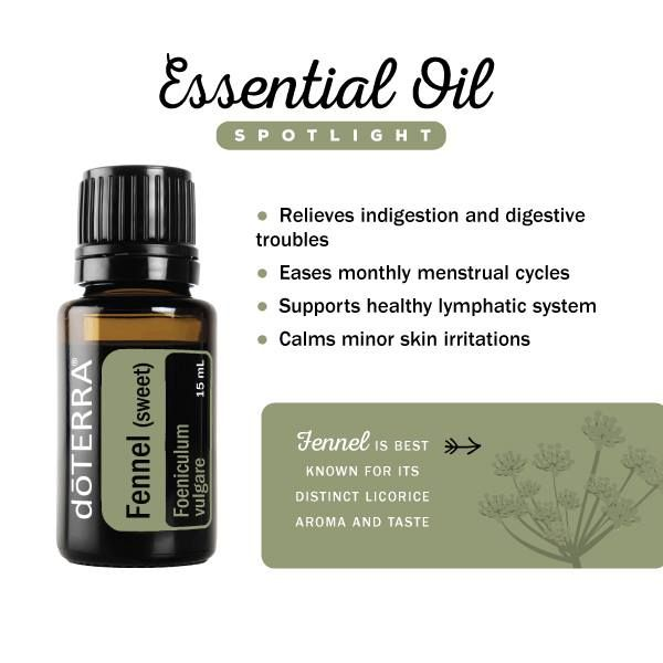 Uses for fennel essential oil