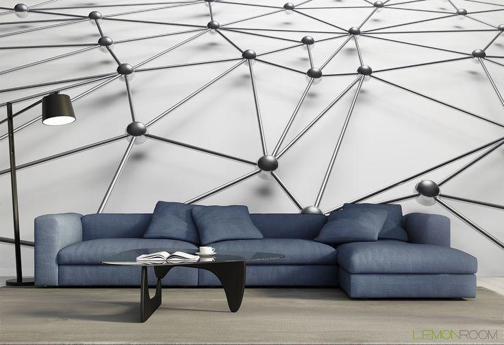 #Fototapeta 3D Połączone kulki  >> http://lemonroom.pl/fototapeta-0-wyniki-wyszukiwania-119451421-Interconnected-balls.html