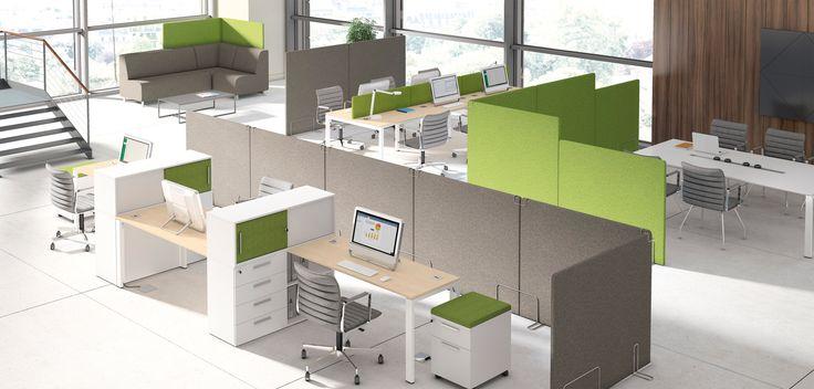 Aqustic to zestaw ścianek i przegród akustycznych, sof o prostokątnej formie z opcjonalnymi ściankami i tapicerowanych tylnych ścian, które mogą być uzupełnieniem szaf, komód i regałów. Kolekcja ta pasuje zarówno do nowoczesnych jak i tradycyjnych wnętrz biurowych. Dzięki zastosowaniu w tej kolekcji tkanin o bogatej kolorystyce przestrzeń biurowa zyskuje przyjazny charakter #mebelux #lobos #krzesło #biuro #meblebiurowe #meble #furniture #work #design #chair #wnętrza www.meble.lobos.pl/