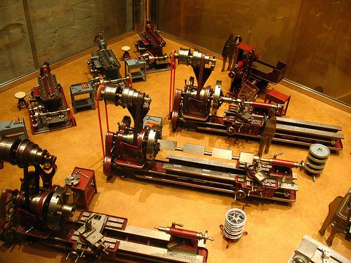(Posted from precisiontype.com)  A couple of good precision machine shops photos I found: Wonderful small models of workshop machines  Image by Vilseskogen American Precision Museum, Windsor, VT, USA. Amazing tiny models of workshop machines  Image by Vilseskogen American Precision Museum, Windsor, VT, USA. Amazing modest...  Read more on http://www.precisiontype.com/good-precision-machine-shops-photos/
