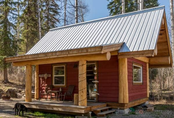 Small Log Cabin For Sale At Horsefly Lake Bc British