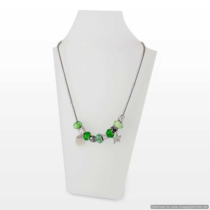 Personal Touch Gifts - Emerald Charm Necklace, £29.99 (http://personaltouchgifts.co.uk/emerald-charm-necklace/)