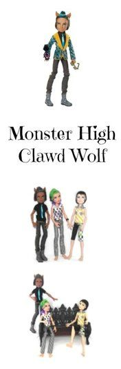Clawd Wolf the Monster High Were-Wolf Doll: He's ghoulishly cool. LADYMERMAID.com
