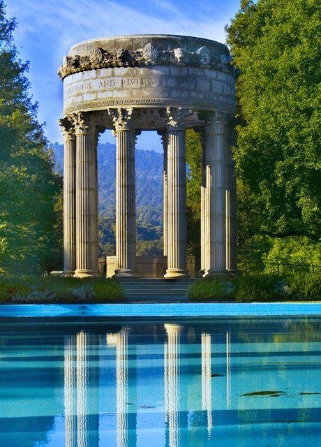 Pulgas Water Temple in San Mateo County California USA
