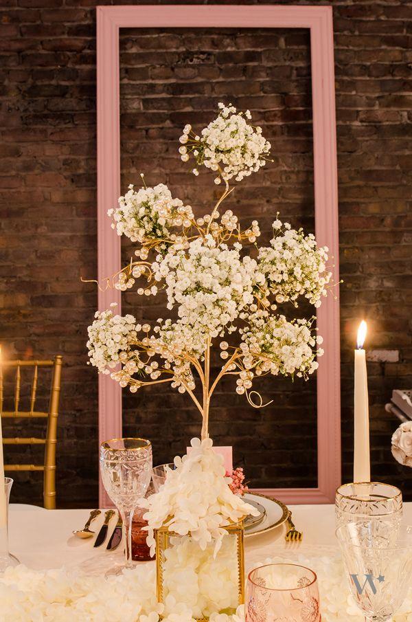 vintage gold wire tree centerpiece brett savannah rh sk pinterest com