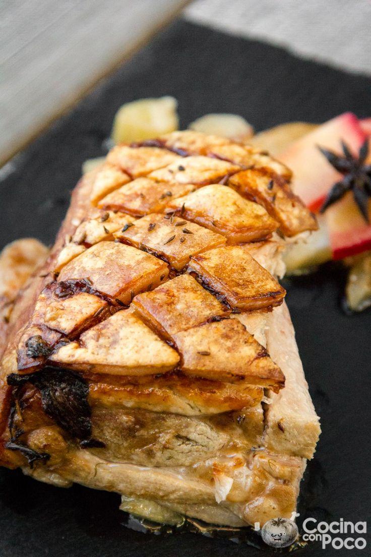 """En Noruega uno de los platos típicos en Navidad, es comer """"ribbe"""" que es la costilla del cerdo, cuando la probé por primera vez una de las cosas que más me gustó fue la parte de la piel…"""