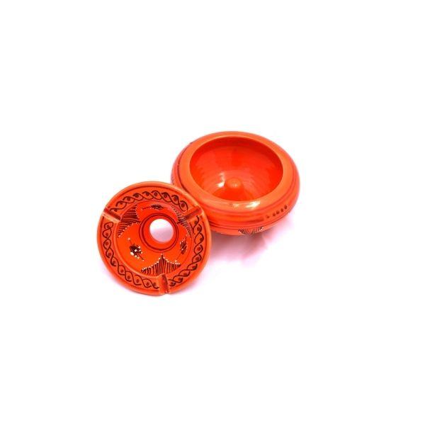 Cendrier marocain moyen : orange