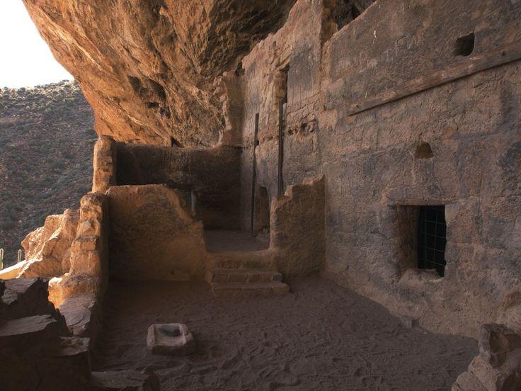 Tonto Cave Dwellings near Tubac AZ
