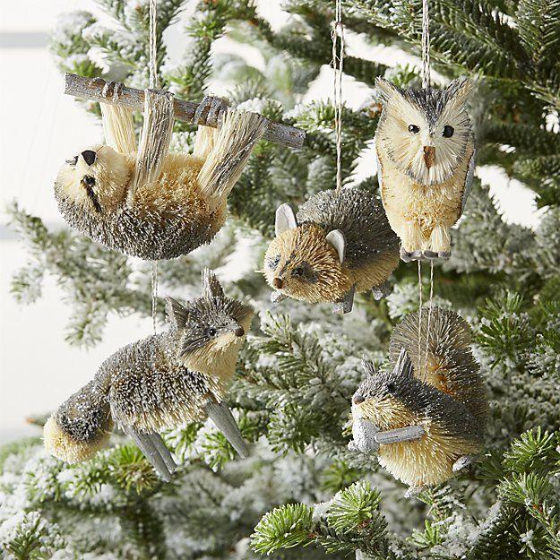 Pin By Seasons Change On Woodland Christmas Woodland Ornaments Woodland Christmas Theme Woodland Christmas Tree