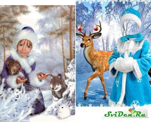 Детские новогоднии костюмы шаблоны