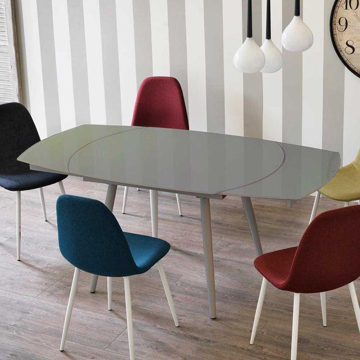 mer enn 25 bra ideer om glastisch ausziehbar på pinterest, Esstisch ideennn