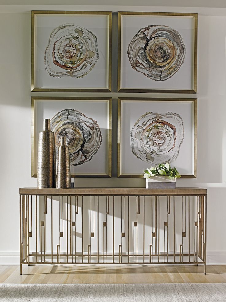 Metal Console Table | Shadow Play by Lexington