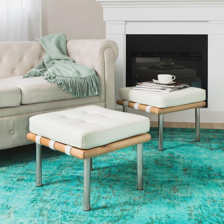 Top 25 Best White Leather Ottoman Ideas On Pinterest Ikea Leather Sofa Cream Upstairs
