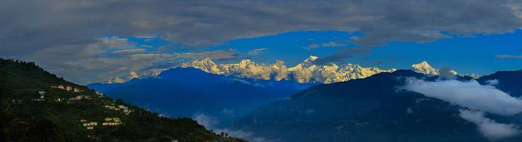 Kanchenjunga view from Gangtok by Vishwa Kiran on 500px