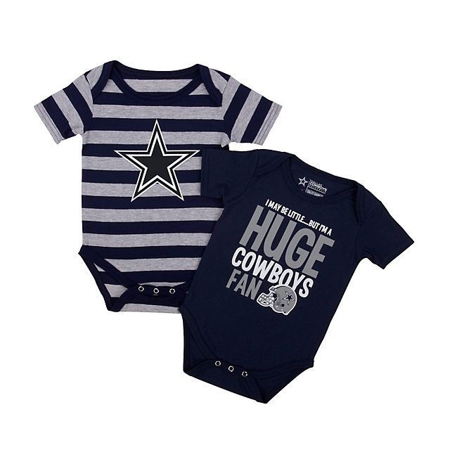 NFL Dallas Cowboys Cuteness Bodysuit Set at shop.dallascowboys.com.