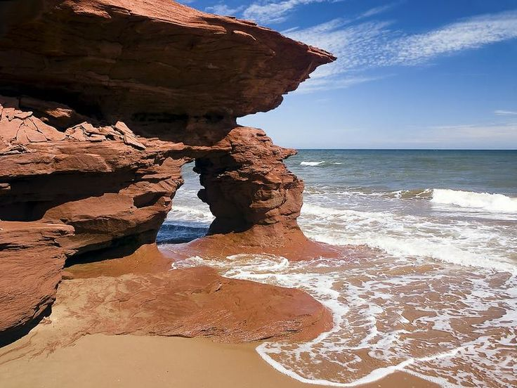 tripbucket | Dream: See the #Red Sands of #Thunder Cove, #Prince Edward #Island, #Canada