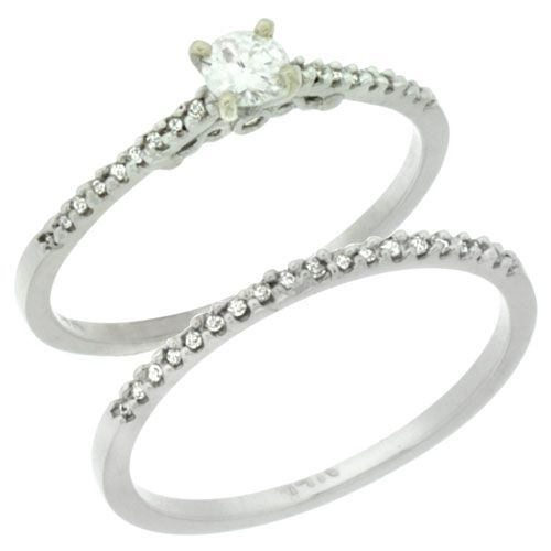 2 Piece Rings - Wholesale - Afford Price: Contact Us @ (213) 689-1488 or info@silvercity.com