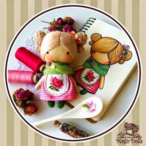 magicdolls: Ma Petite Poupee -Tea Rose
