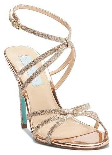 04f1f1bad88 Betsey Johnson Myla Glitter Strap High Heel Sandal. Disclosure  My pins are  affiliate links