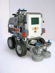 Street Sweeper Lego NXT