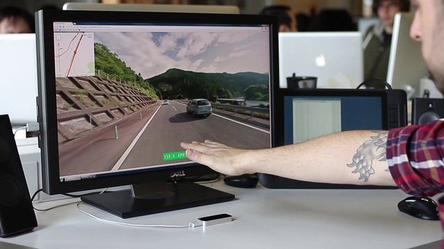 Driving Google Street View with Leap Motion by Teehan+Lax Labs. Music Credit: Andrew Bayer - Farnsworth Court