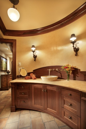 Tuscan Bathroom Decor Design, Pictures, Remodel, Decor And Ideas   Page 6