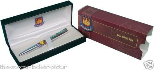 West Ham United FC Official Executive Ball Point Pen by West Ham United F.C. West Ham United FC Official Executive Ball Point Pen.