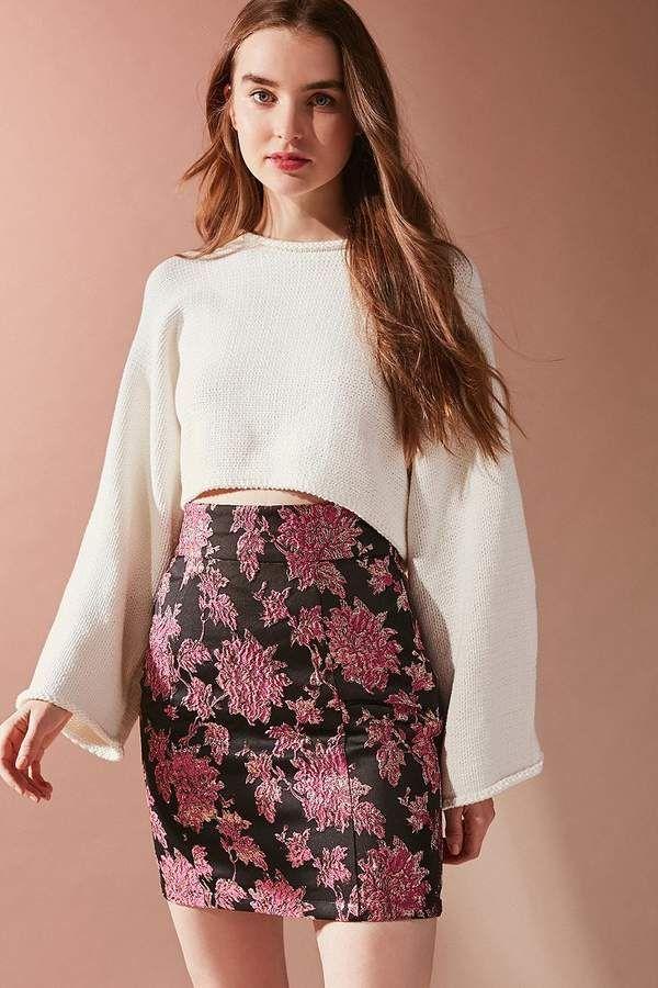 e0a1cb5b1dde For Love & Lemons Luella Jacquard Pencil Skirt (affiliate link ...