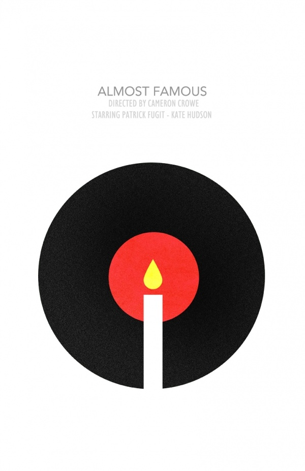 Best Minimalist Images On Pinterest Film Posters Minimal - Popular movie posters get redesigned with a beautifully minimal twist