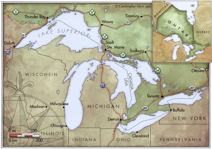 Great Lakes by Chris Hoyt