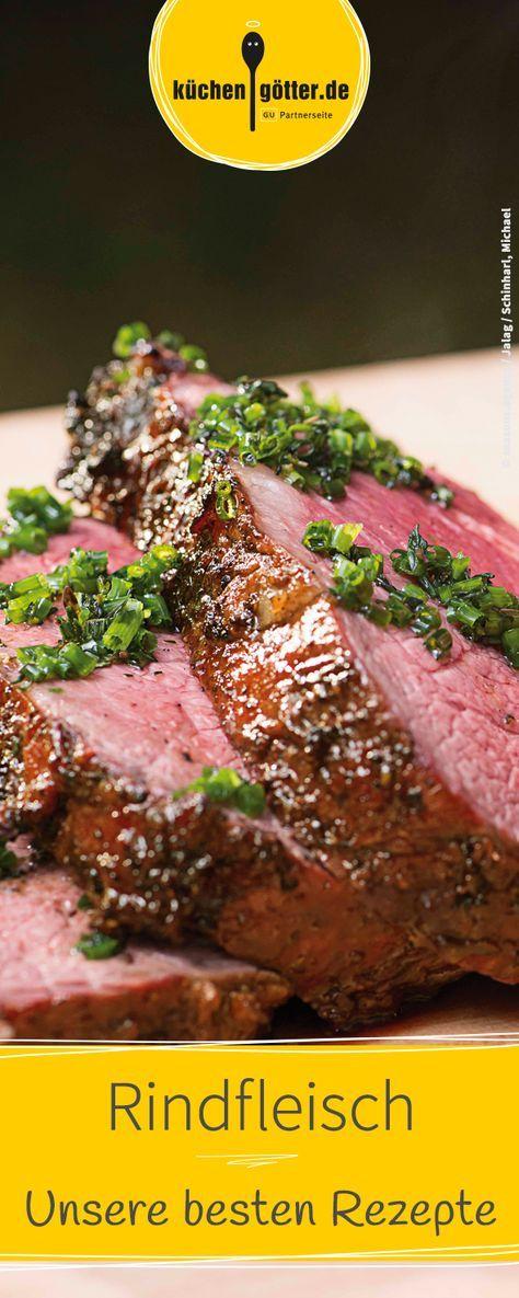 Unsere besten Rindfleisch-Rezepte: Vom Rinderbraten bis hin zum Rinderfond – Entdeckt die besten Rezepte mit Rindfleisch und hilfreiche Tipps und Tricks für die richtige Zubereitung.