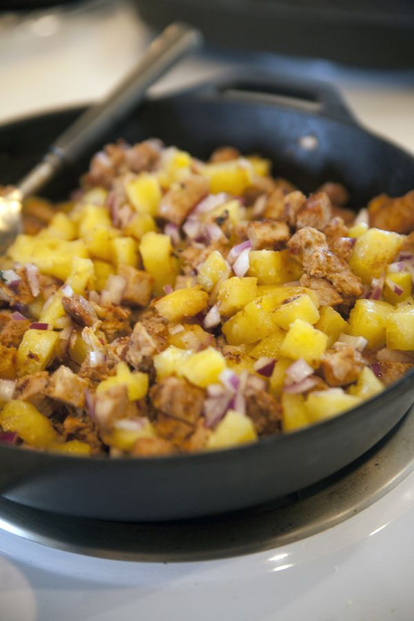 Tacos al Pastor with Roasted Pineapple Salsa (Grilled Pork Tacos)
