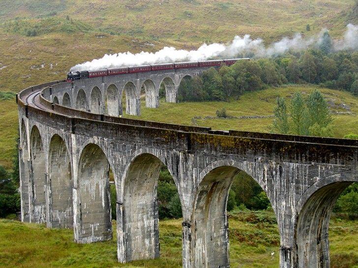 グレンフィナン陸橋 – スコットランド