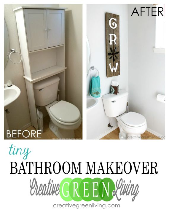 Best 25+ Tiny Bathroom Makeovers Ideas On Pinterest
