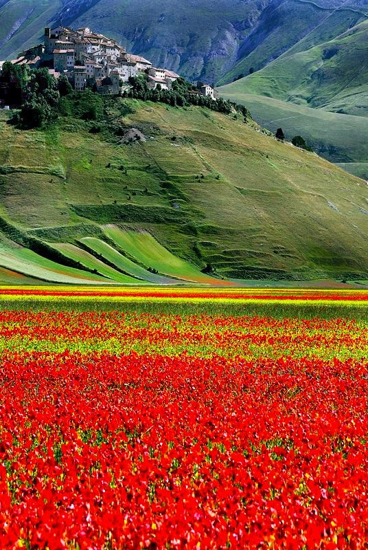 Castelluccio, Umbria, Italy, province of Perugia