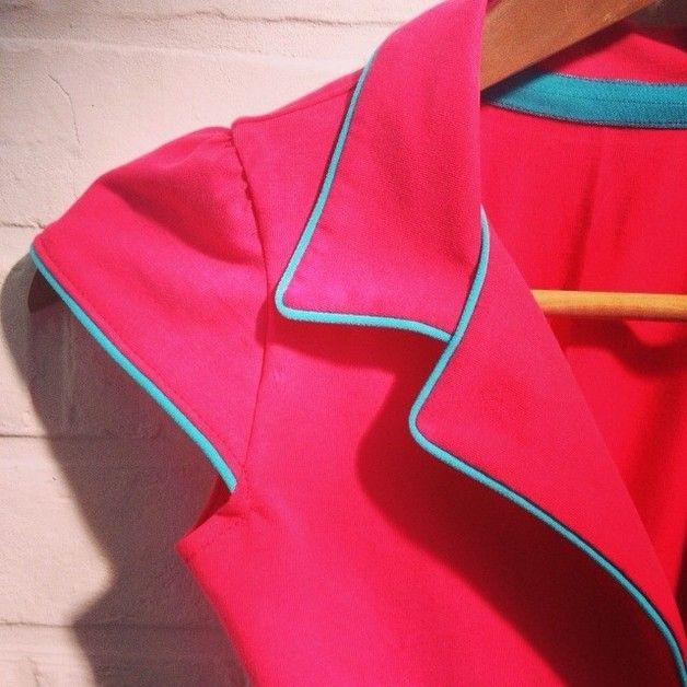 Patroon kleding - 34-36-38 Het patroon Telma jurk+blouse+rok - Een uniek product van VintageEnRetroNaaipatronen op DaWanda