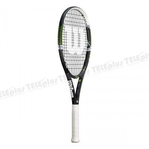 Wilson Monfils Lite 105 Tenis Raketi - KORDAJSIZ AĞIRLIK: 255 gr  KORDAJ DİZİLİMİ: 16 Mains / 19 Crosses  MALZEME: Full Graphite  MALZEME GENİŞLİĞİ: 25.5mm  - Price : TL355.00. Buy now at http://www.teleplus.com.tr/index.php/wilson-monfils-lite-105-tenis-raketi.html