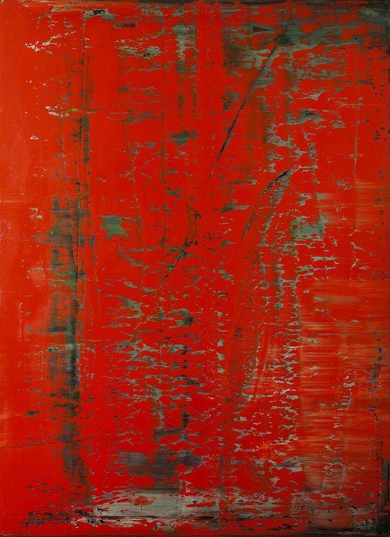 richter art  Ik wil veel gebruik maken van de kleuren rood en zwart om ergernis, kracht en woede beter over te laten komen.