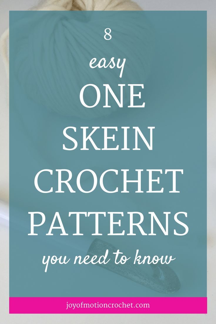 One skein crochet patterns are perfect when you've just got that one skein left when you finished crocheting something bigger. Even though it's just that one skein, there's no reason just to stash it away & never use it for a crochet project. Crochet finger puppets | crochet ideas | crochet one skein patterns | crochet one skein wonders | crochet sunglasses pouch | easy one skein crochet patterns | leftover yarn | one skein crochet | one skein crochet pattern | one skein crochet projects…