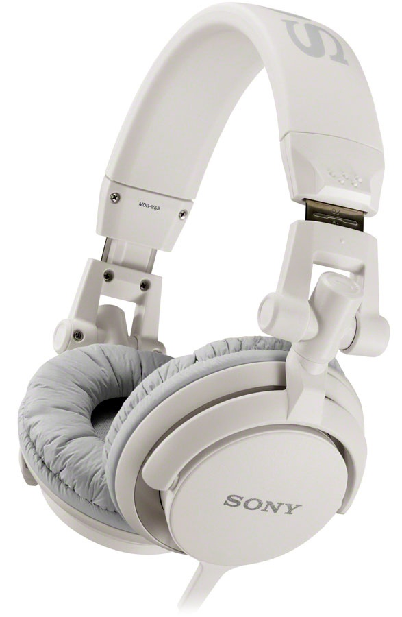 sony mdr-v55 headphones, sony dj style headphones with big sound and great looks  http://www.shoppingway.co.uk/sony-v55