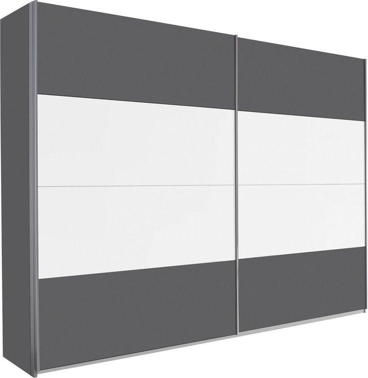 Rauch Schrank mit Schwebetüren grau, Höhe 210 cm, Breite 226cm Jetzt bestellen unter: https://moebel.ladendirekt.de/wohnzimmer/schraenke/weitere-schraenke/?uid=114611f5-6d6c-5283-b699-eaf64762dd32&utm_source=pinterest&utm_medium=pin&utm_campaign=boards #schraenke #wohnzimmer #weitereschraenke