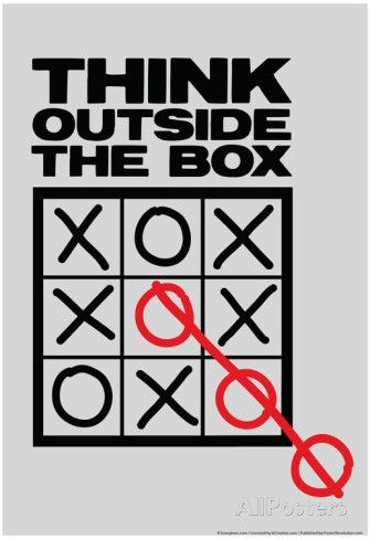 Think Outside The Box Pôster