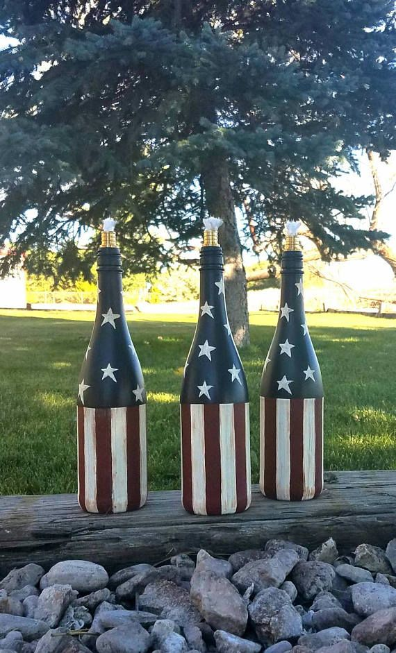 Check out this item in my Etsy shop https://www.etsy.com/listing/462430199/champagne-bottle-tiki-torch-wine-bottle