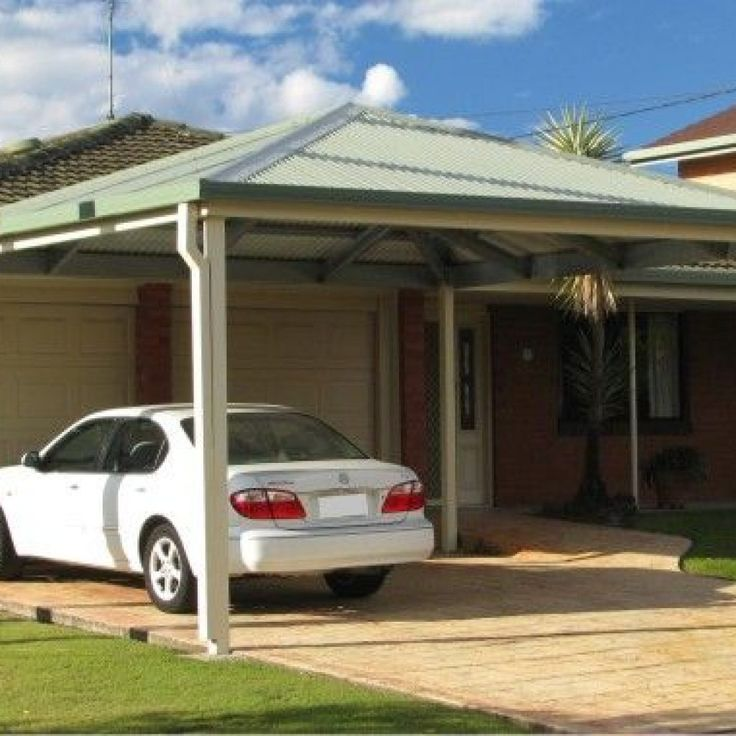 Hip Roof Carports Hip Roof Carport In 2019 Patio Roof