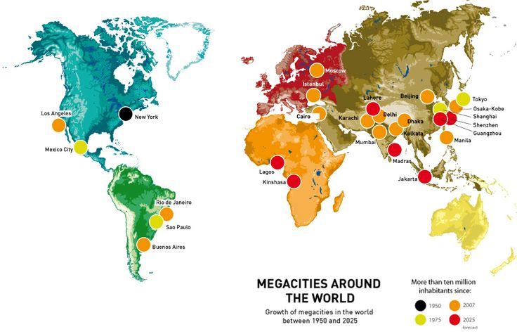 Megacities world map 28 images megacities around the world megacities world map map of gumiabroncs Gallery